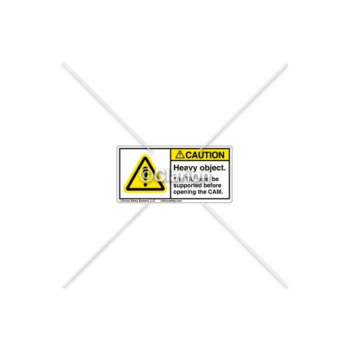 Caution/Heavy Object Label (C1169-07)