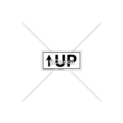 Up Label (8979-01HPL)