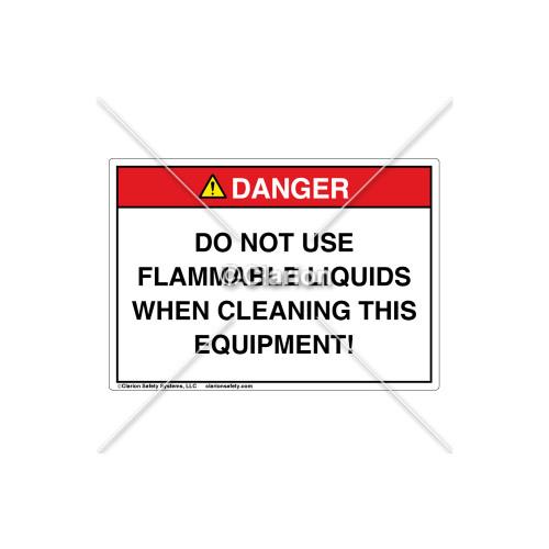 Danger/Do Not Use Label (C7350-02)