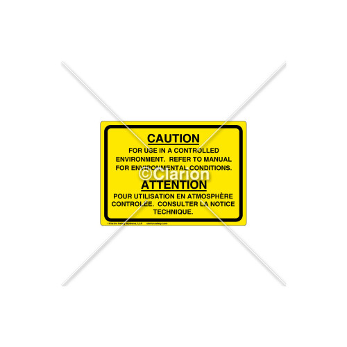 Caution/For Use In Label (8063-03)