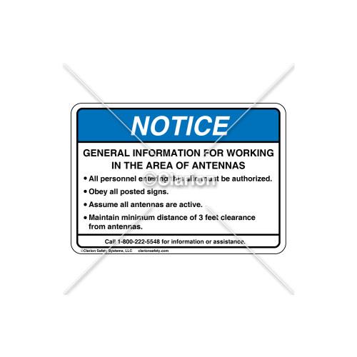 Notice/General Information Label (6027-94NHB-R5)