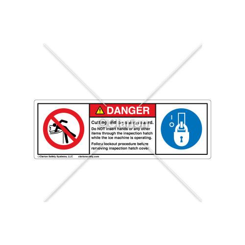 Danger/Do Not Insert Label (106298)