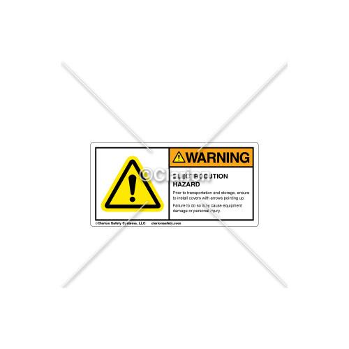 Warning/Electrocution Hazard Label (13653262-22)