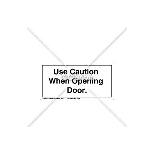 Use Caution When Label (C18486-04)