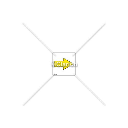 Arrow Right Label (8135-04P-C)