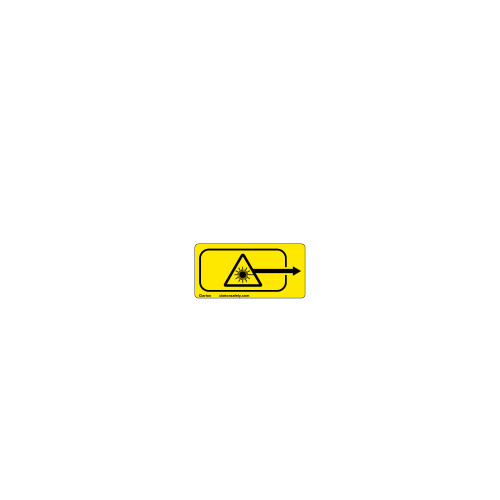 Laser Aperature Label (C7384-04)