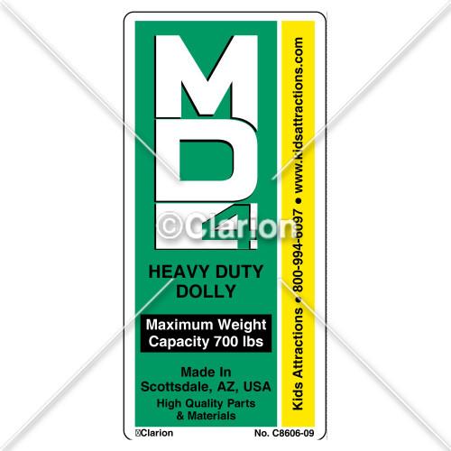 Heavy Duty Dolly 4 (C8606-09)