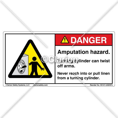 Danger/Amputation Hazard (H5141-UGDHPJ)