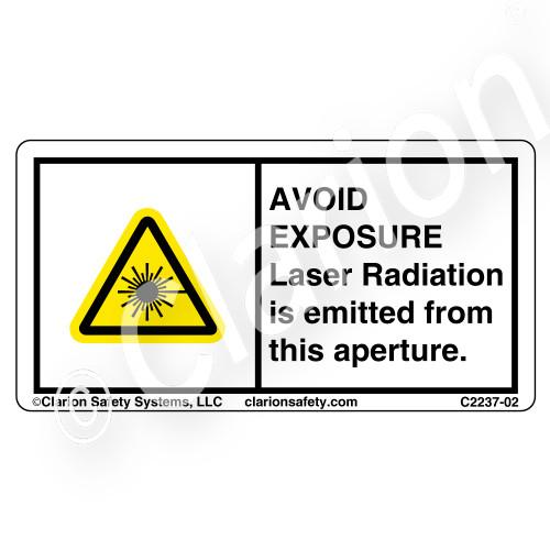Avoid Exposure Laser Radiation (C2237-02)