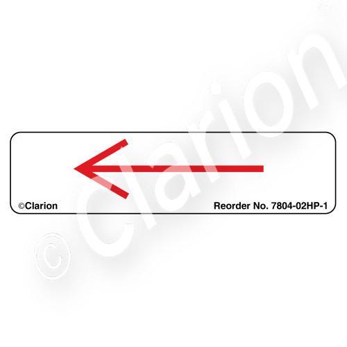 Straight Arrow/Left (7804-02HP-1)