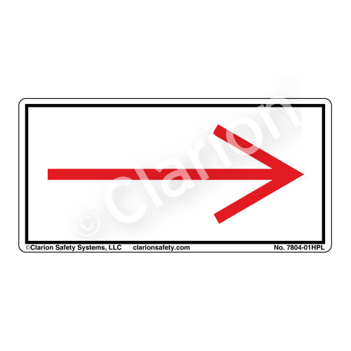 Straight Arrow/Right (7804-01HPL)