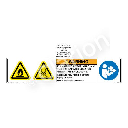 Warning/Flammable (C2672-34)