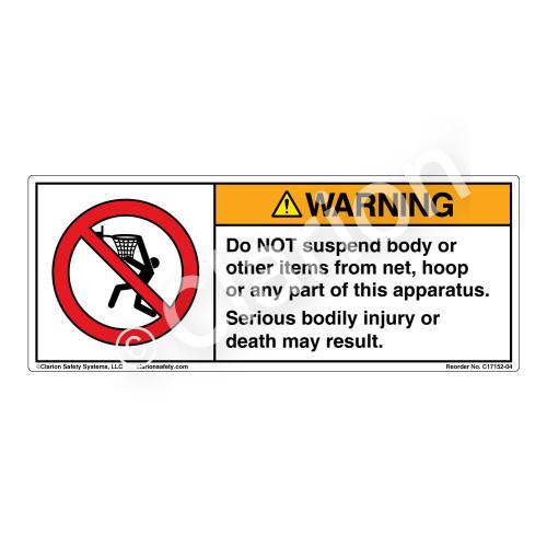 Warning/Do Not Suspend (C17152-04)