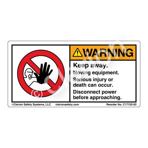Warning/Keep Away (C17152-02)