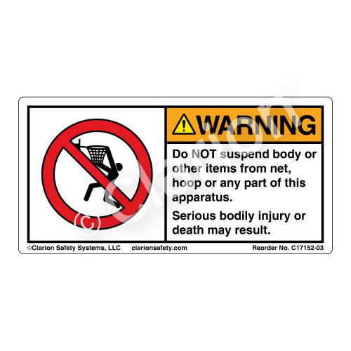 Warning/Do Not Suspend (C17152-03)