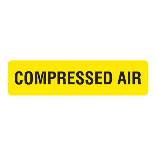 Compressed Air Label (CA-)