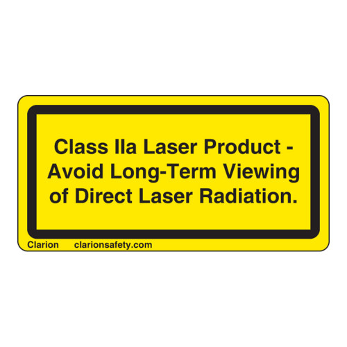 Class IIa Laser Product Label (CDRH2002-HP)