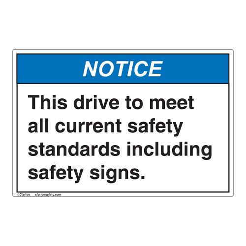 Notice/This Drive Label (EMC 401 )