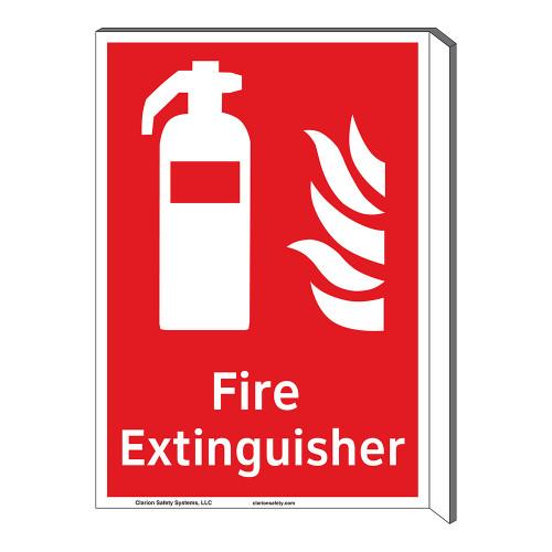 Fire Extinguisher Sign (F1001F-)
