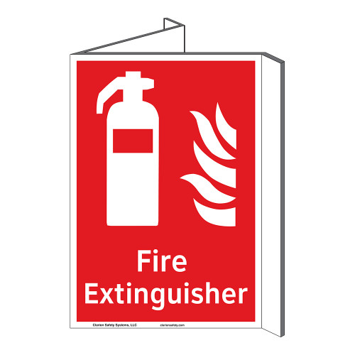 Fire Extinguisher Sign (F1001P-)