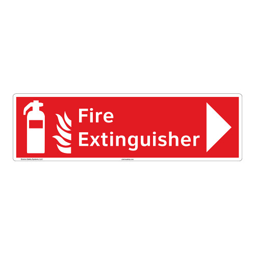 Fire Extinguisher Sign (F1002-)