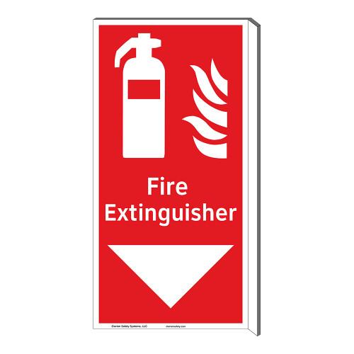 Fire Extinguisher Sign (F1005F-)