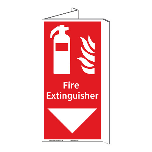 Fire Extinguisher Sign (F1005P-)