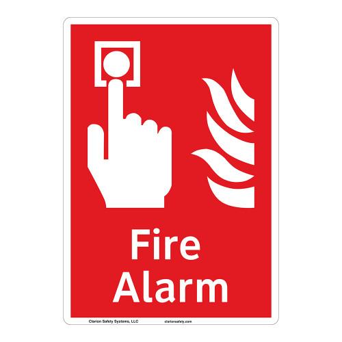 Fire Alarm Sign (F1006-)