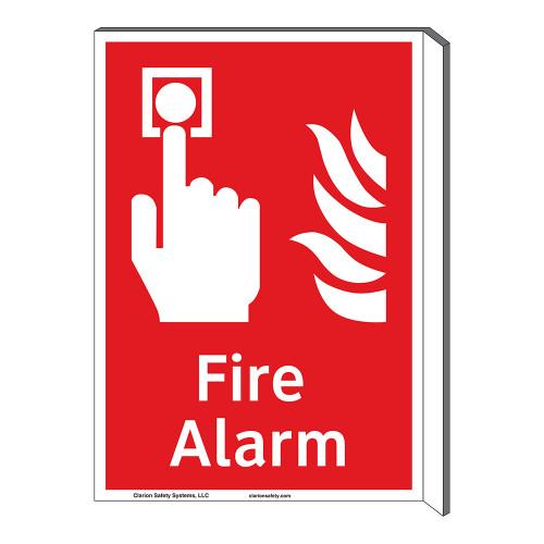 Fire Alarm Sign (F1006F-)
