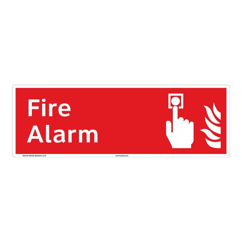 Fire Alarm Sign (F1009)