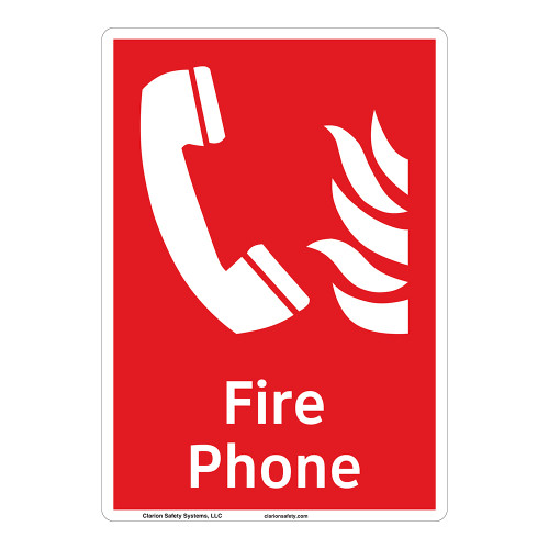 Fire Phone Sign (F1011-)