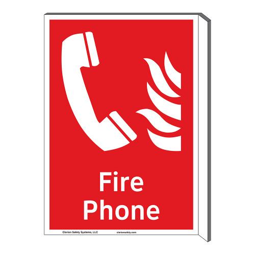 Fire Phone Sign (F1011F-)
