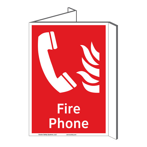 Fire Phone Sign (F1011P-)