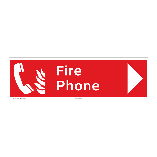 Fire Phone Sign (F1012-)
