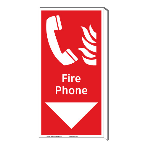 Fire Phone Sign (F1015F-)