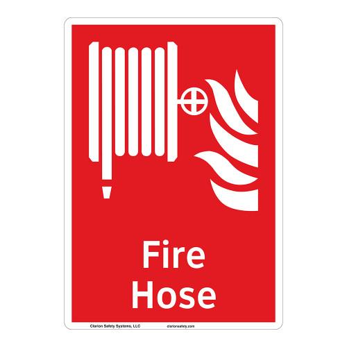 Fire Hose Sign (F1016-)