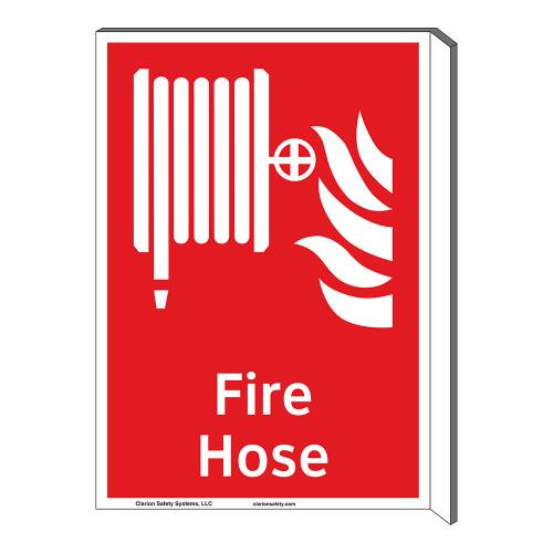 Fire Hose Sign (F1016F-)
