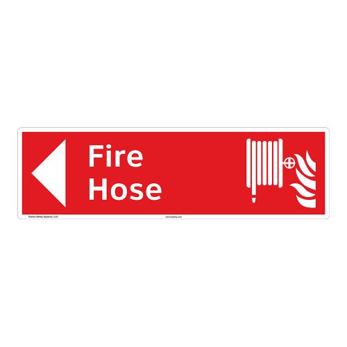 Fire Hose Sign (F1018-)