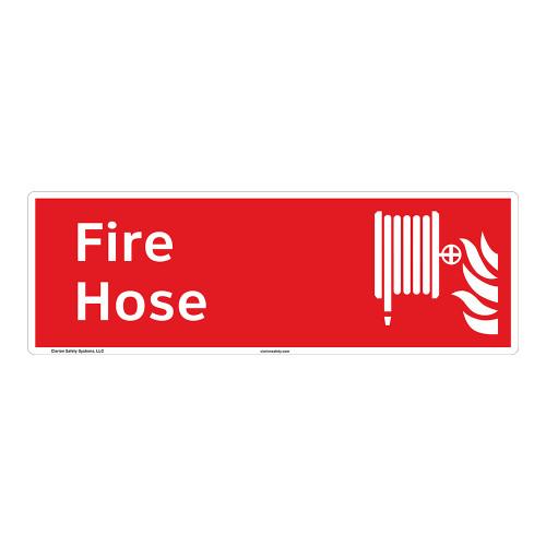 Fire Hose Sign (F1019)