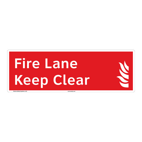 Fire Lane Sign (F1021-)