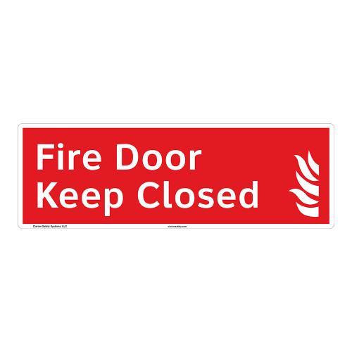 Fire Door Sign (F1022-)