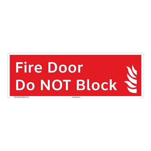 Fire Door Sign (F1023-)