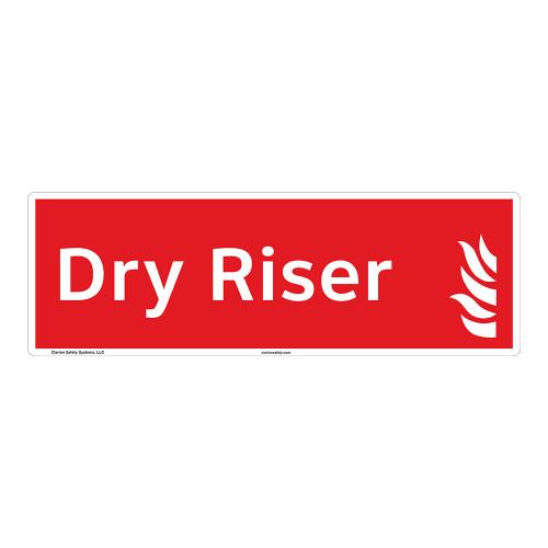 Dry Riser Sign (F1031-)
