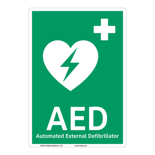 AED Sign (F1033-)