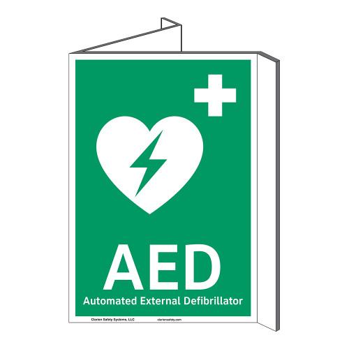 AED Sign (F1033P-)