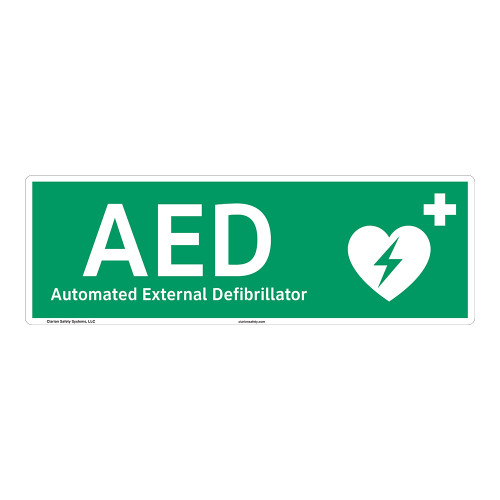 AED Sign (F1036-)