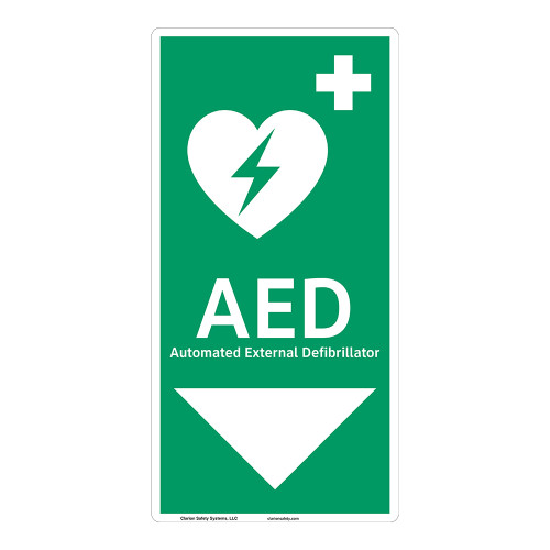 AED Sign (F1037-)