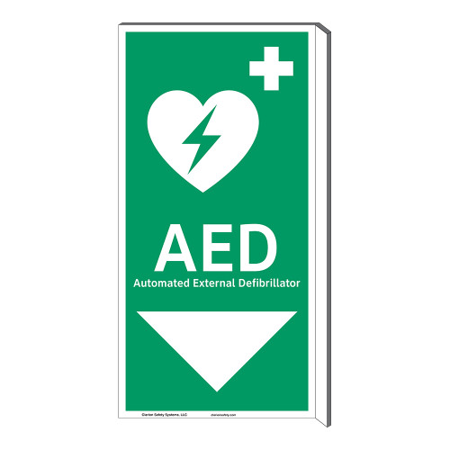 AED Sign (F1037F-)