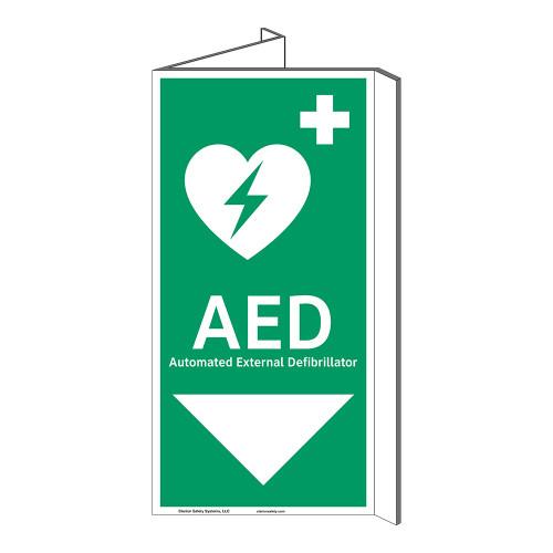 AED Sign (F1037P-)