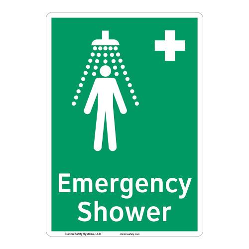 Emergency Shower Sign (F1038-)